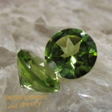 Peridoty z Pakistánu 6mm Váha: 1.74ct
