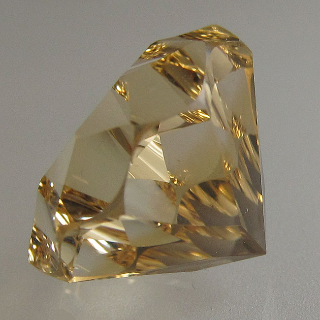 Citrín z Mozambiku 12mm Váha: 6.94ct
