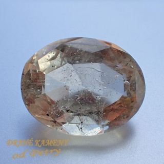 Citrín z Moravy 19x15mm  Váha: 16.74ct